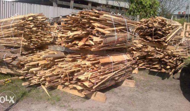 zrzyny tartaczne opał drewno opałowe podpałka
