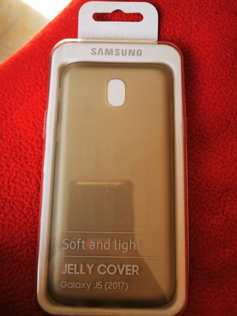 Samsung Capa Galaxy J5 (2017) Jelly Cover Gold