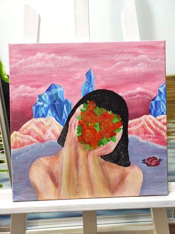 Sprzedam obrazy ręcznie malowane