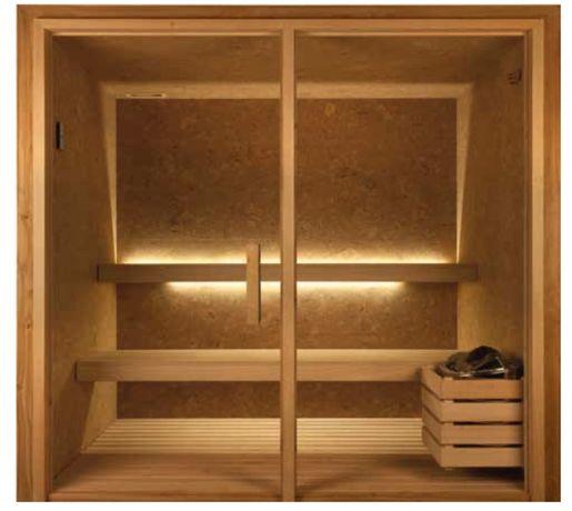 Sauna de cortiça 1.25 x 1,25