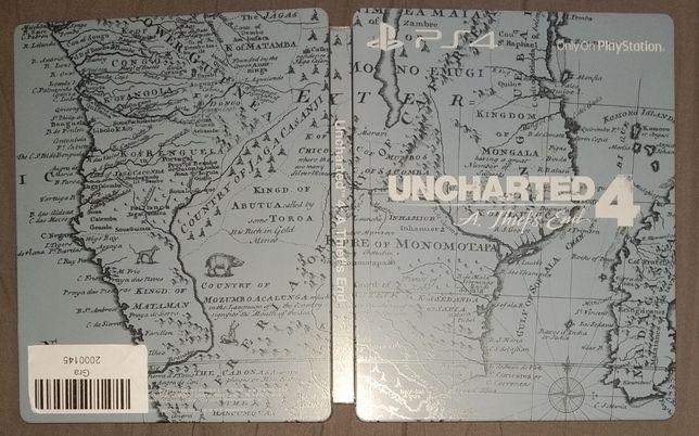 UNCHARTED 4 PS4 - SteelBook Edycja Kolekcjonerska - UNIKAT - jak NOWY