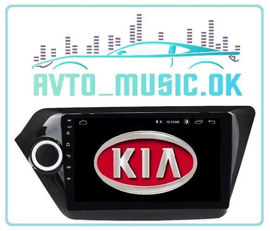 Магнитола KIA RIO K2 Android 10, GPS, USB, 4G CarPlay