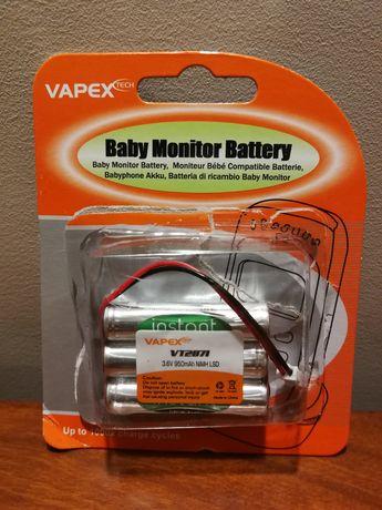 Bateria monitor bebé Motorola MBP ** NOVA **