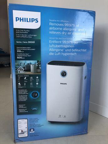 Очисник - зволожувач повітря PHILIPS Series-3000i AC3829/10 (WI-