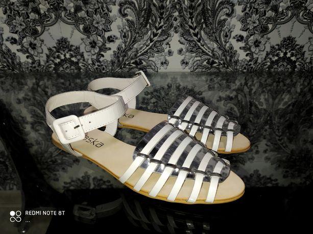 Босоножки сандалии кожаные braska ecco geox reima zara
