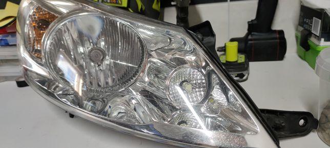 Lampa reflektor Fiat scudo expert Jumpy 2010r. Europa prawa ORYGINAŁ