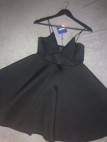 Czarna sukienka missquided
