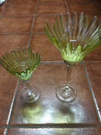Castiçais cristal