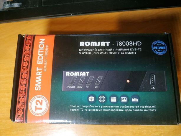ТВ приставка Romsat T8008HD