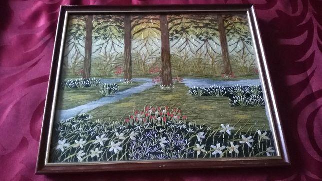Obraz haftowany