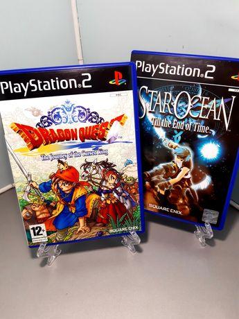 Jogos RPG da Square Enix para a PS2: Dragon Quest VIII e Star Ocean 3