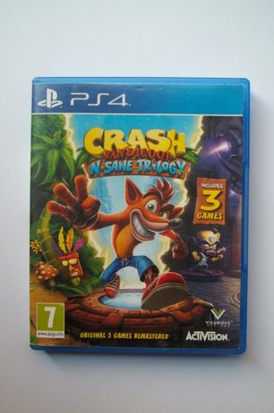 PS 4 Crash Trylogy Centrum Gier Grodzka 4