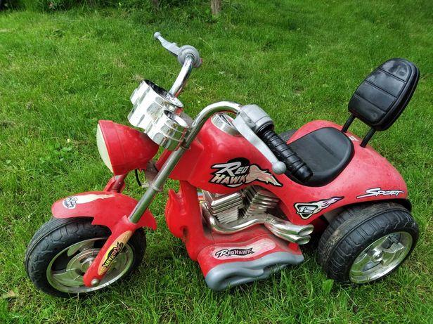 Аккумуляторный мотоцикл Red Hawk 12 Sport