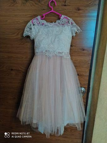 Нарядный комплект, платье, нежный костюм на праздник