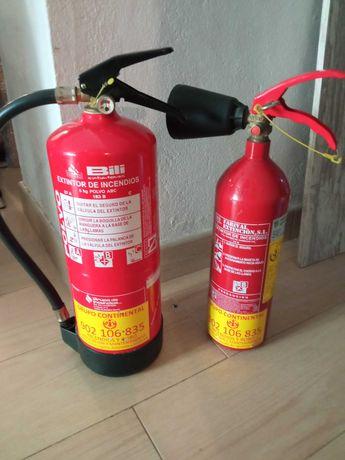 Extintores ( dióxido de carbono/ ABC )