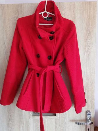 Płaszcz, rozmiar M, kolor czerwony