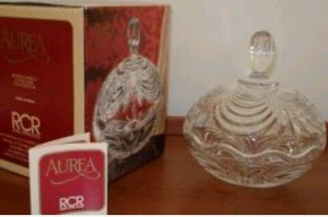 Royal Crystal Rock (RCR) Aurea (Guarda-Joias/Bomboneira)