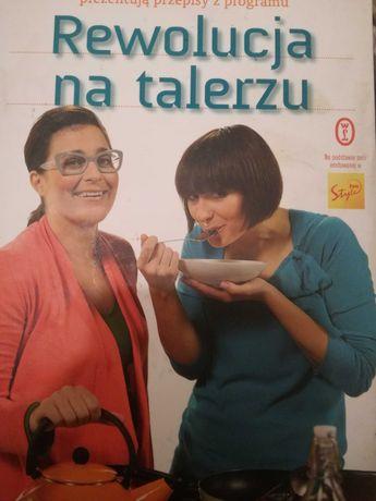 Książka kucharska z programu telewizyjnego odbiór obok metra Centrum