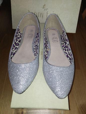 Pantofle baleriny damskie rozmiar 37