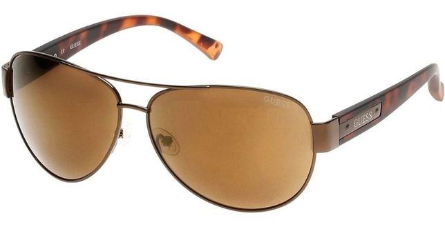Okulary przeciwsłoneczne męskie Guess GU6830/6345G