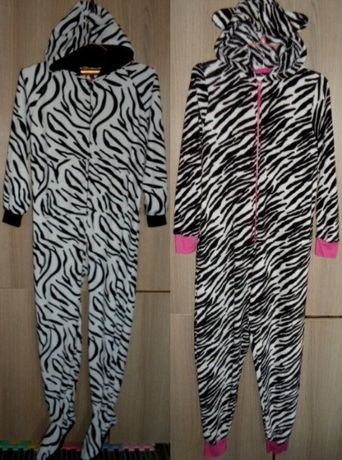 Пижама комбинезон слип флисовый размер S/М/L
