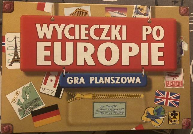 Gra Wycieczki po Europie