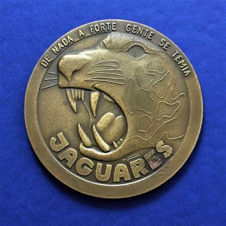 medalha JAGUARES - Esquadra 301 - FAP Base Aérea nº. 6 Montijo - 80mm