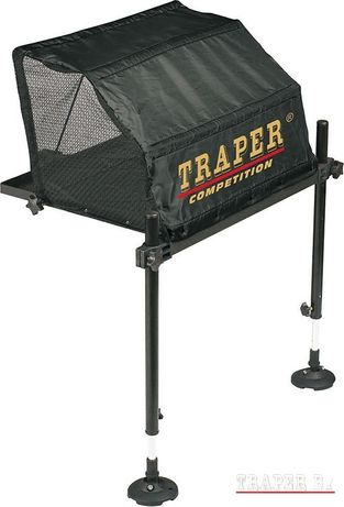 Насадочный стол с тентом TRAPER для рыбалки под платформу. 51х43см