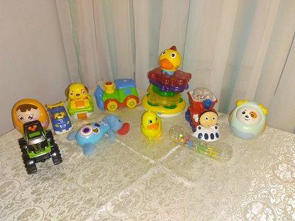 Музыкальные игрушки поезд томас, муз неваляшка,машинк