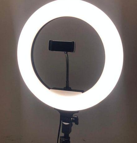 Кольцевая лампа + штатив 2 метра! Идеально для ТИК-ТОКА или блога.
