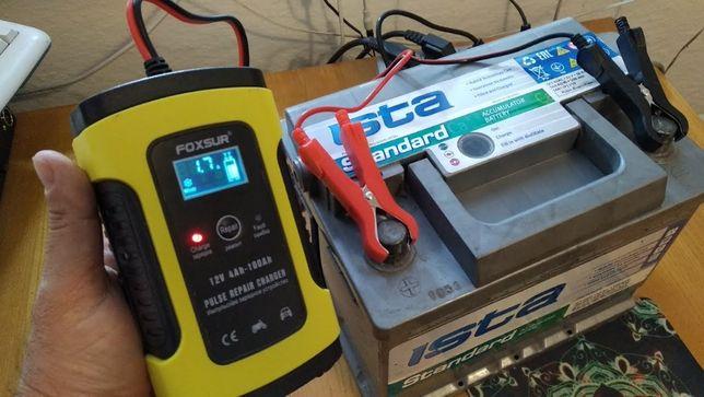 Импульсное зарядное устройство для аккумулятора автомобиля