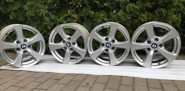 125# Alufelgi 5x120 r16 BMW E60 e61 e90 e91 e92 F30 F31 e36 e46 Z4
