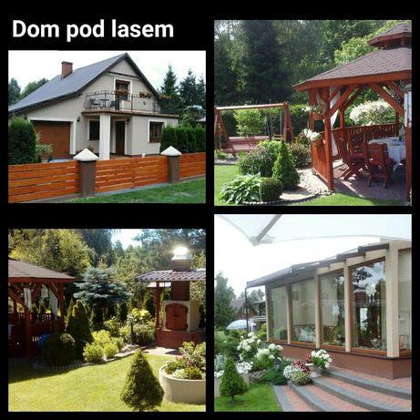 Dom, jezioro, las  Kaszuby Zapraszamy we wrześniu.