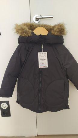 Зимняя куртка ,пуховик 2-3 года,98 Zara