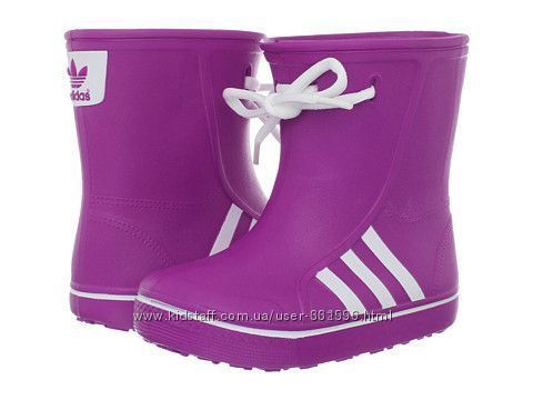 Продам резиновые(ботинки, кроссовки) сапоги adidas оригинал 34/35