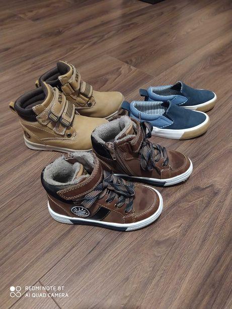 Sprzedam zestaw butów, 2x25 i 1x26