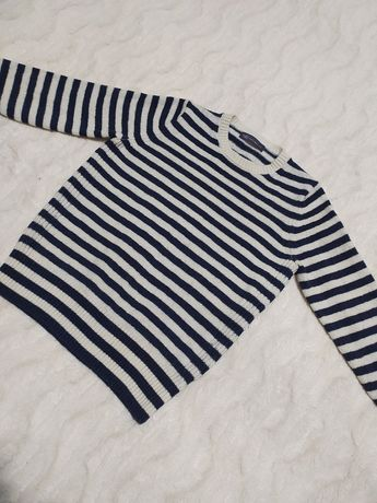Sweterek wełniany Marks & Spencer sweter 42