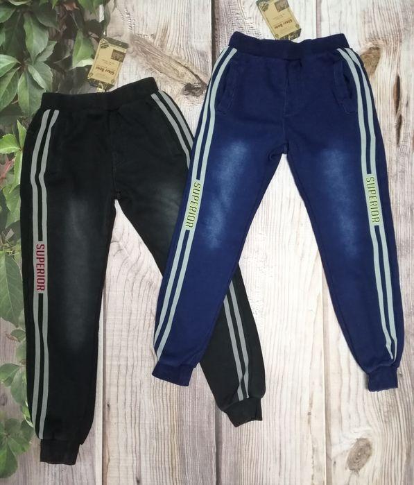 Утеплённые спортивные штаны, под джинсы, на меху р. 128-158 Киев - изображение 1
