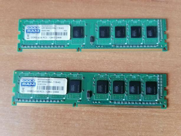 Ddr3-1600Mhz 8Gb, 2x4Gb 12800 DIMM