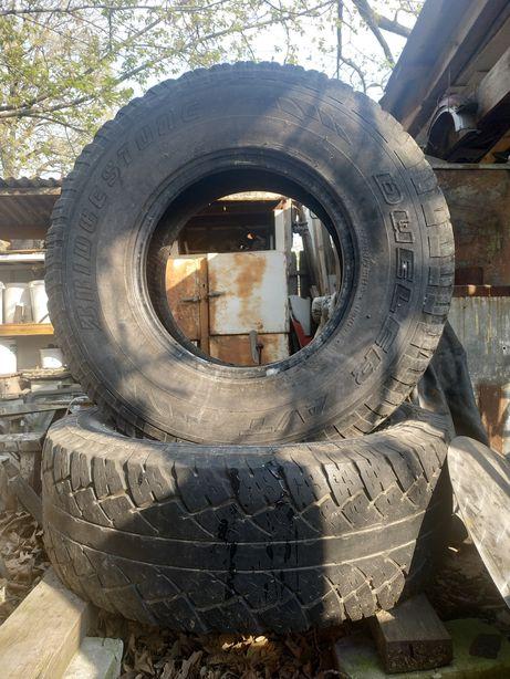 Продам шины Bridgestone Dueler 693