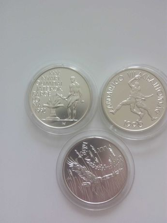 srebrne monety Wegry