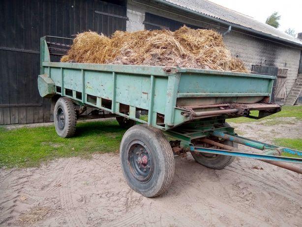 Rozrzutnik 6 ton do kukurydzy, obornika