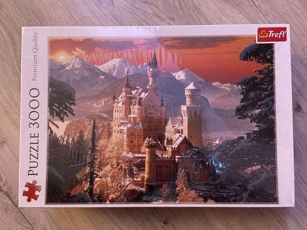 Puzzle Trefl 3000 elementów Zamek Neuschwanstein