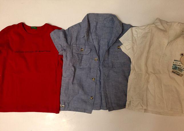 Льняные рубашки, брюки, шорты Mothercare Chicco GAP