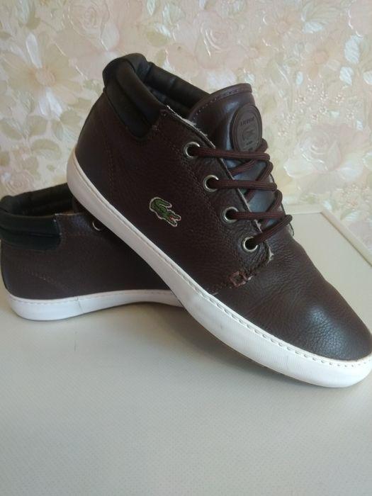 Фирменные кожаные утеплённые кроссовки 37 размер. Оригинал Киев - изображение 1