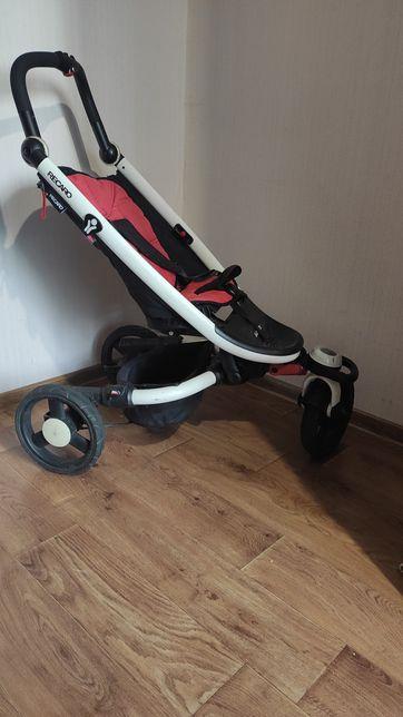 Крутая трехколесная прогулочная коляска Recaro babyzen