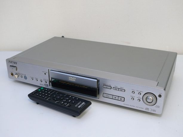Odtwarzacz CD/DVD SONY DVP-S735D Alu panel pilot HIGH END