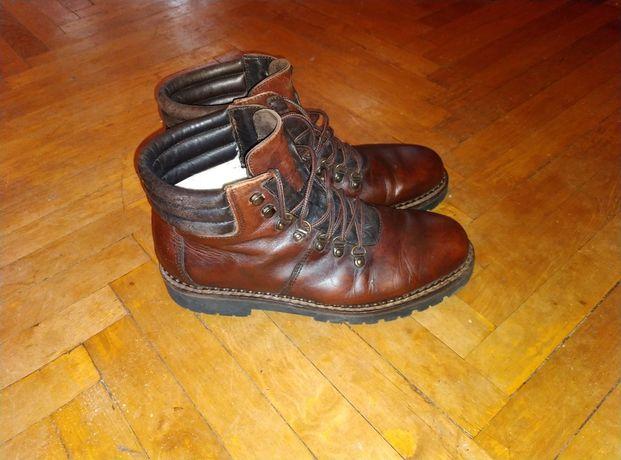 Ботинки кожа Италия 26.5см стелька