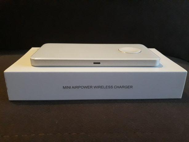 Беспроводное зарядное устройство Qitech Mini AirPower с технологией Qi