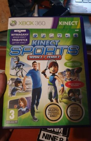 Kinect Sports Season 2 Xbox 360 igła Po Polsku
